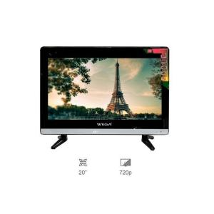 WEGA 20 Inch DLED TV Double Glass - (Black & White)