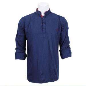 Kurta Shirt For Men- Royal Blue