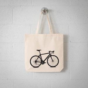 BICYCLE TOTE BAG,HANDMADE BAG