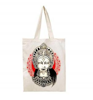Handmade MAHAKALI Tote Bag
