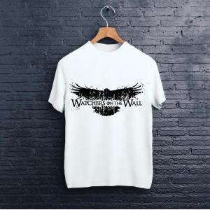 Vastra CROW Tshirt Unisex-White