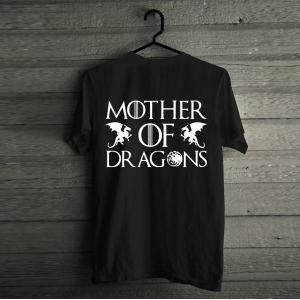 Vastra Dragons Tshirt Unisex-Black