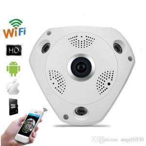 360 Panaromic Fisheye IP Surveillance Wifi Camera