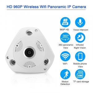 HD 960P IP Camera 1.3M WiFi 360 Panoramic Fisheye Night Vision