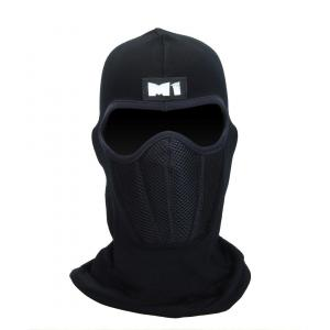 M1 Full Mask With Air Filter - Black