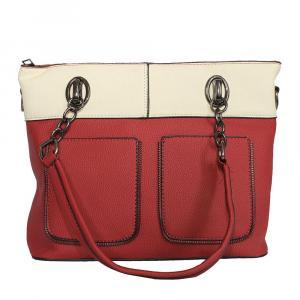 Two Toned Handbag For Women