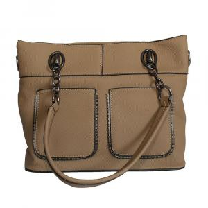 Front Pocket Design Handbag For Women