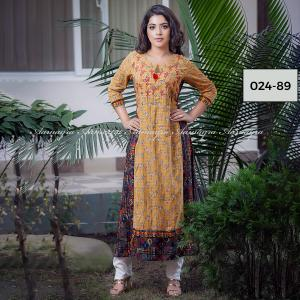Double Layer Kurti For Women