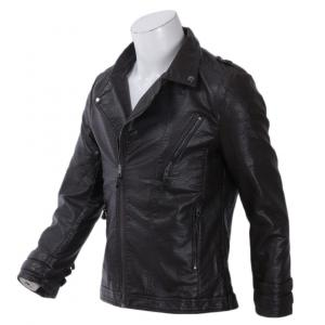 New Autumn Men's Leather Jacket For Men Coffee Colour By Bajrang