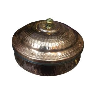stranded  2 Size Hundi pot  with 750gm weight