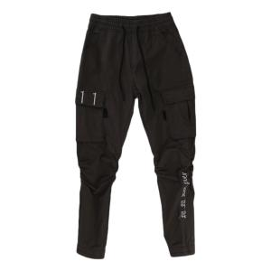 Dark Grey Plain Joggers With Pockets For Men