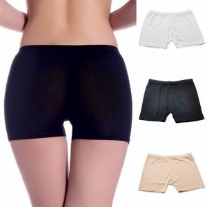 Women Soft Elastic Model Safety Under Short Pants Legging Safety Seamless Shorts 2019 New Women Solid Black Color Intimates By Bajrang