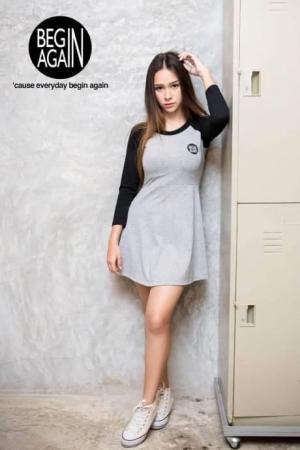 Begin Again Grey/Black Dress For women - (CBA-02-women)