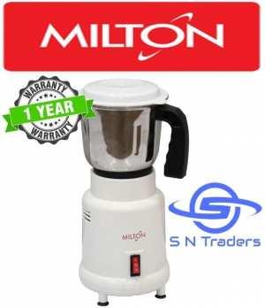 Milton 1Jar Mixer Grinder 400W - (White)