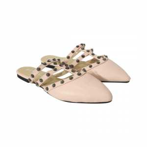 Flat Slip On With Studs For Women