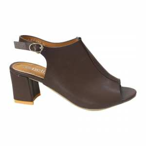 Mules Block Heels With Back Strap For Women