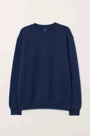 Summer Long Sleeve Sweatshirt For Women  (Royal blue)
