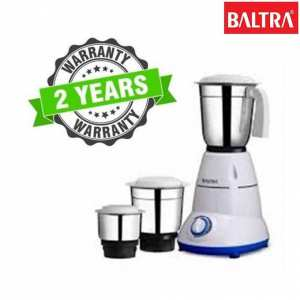 Baltra BMG 130 Cozy 3 500-Watt Mixer Grinder With 3 Jar - (White)