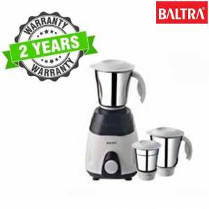 Baltra BMG 131 Fighter 3 500 Watt Mixer Grinder With 3 Jars - (White/Black)