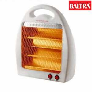 Baltra Flame Quartz Heater - White