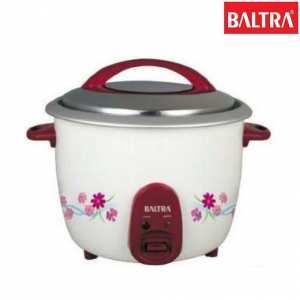 Baltra Dream Regular 1 Ltrs Rice Cooker - (White)