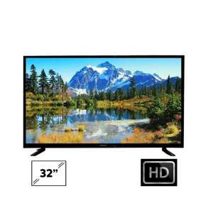 Wega 32 Inch DLED TV Double Glass - (Black)