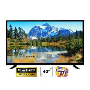 WEGA 40 Inch SMART DLED TV HI Sound Double Glass - (Black) Android 9 Latest Version In Tv
