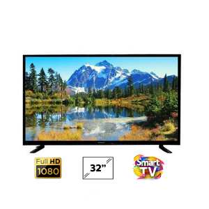 WEGA 32 Inch SMART DLED TV HI Sound Double Glass - (Black)