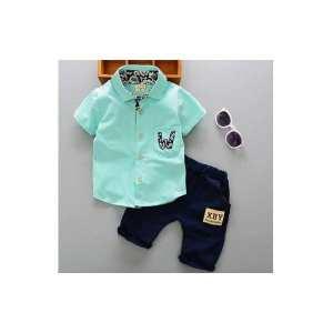 Children's Short Sleeve Suit Wear(EM23-301)