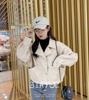 PU Leather Women jackets