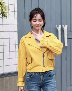 Colourful Denim Women Jacket