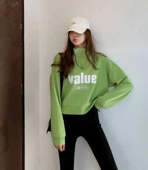 Long Sleeve Value Women Sweatshirt