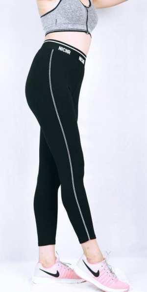 Women Yoga Fitness Gym Elastic Fitness Sport Leggings Solid Tights Slim Sportswear Training wear