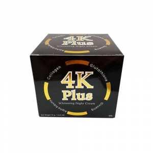 4K Plus Whitening Night Cream 20 g. Whitening Anti-aging Smooth Firm Skin