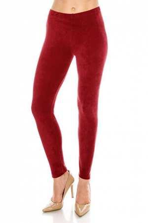 Plus size Soft Velvet Leggings with Fur Inside