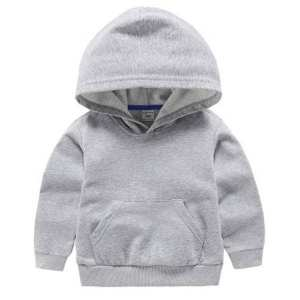 Full Sleeves Plain Kids Hoodies