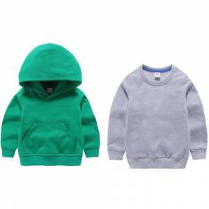 Buy 1  Plain Fleece Hoodie for Kids And Get  Fleece Sweat Shirt
