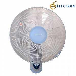 Electron 533 60W Non Remote Wall Mount Fan - (White/Blue)