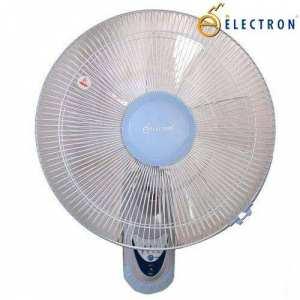 Electron 503R 60W Remote Wall Mount Fan - (White/Blue)