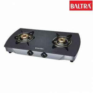 Baltra BGS 106 Crystal 2 Gas Stove - Black