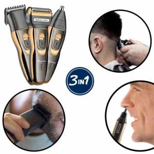 3 In 1 Hair Clipper, Shaver & Nose Hair Trimmer