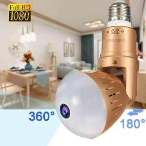 360 Panoramic Bulb WiFi Camera