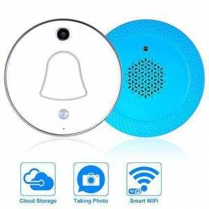Smart Door Bell With IP Camera