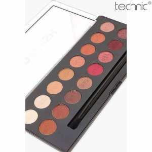 Technic Pro Finish Eye Shadow Palett- Molten Lava Edition