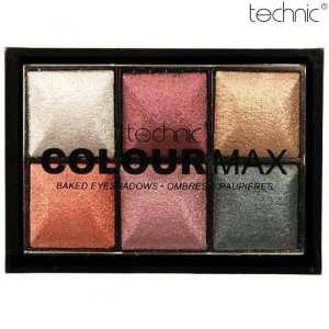 Technic Baked Eye Shadow Palette-Treasure Chest