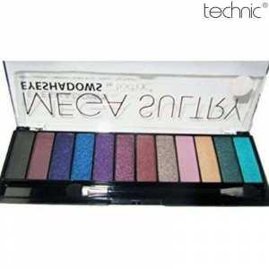 Technic Mega Sultry Eyeshadow Palette -1.5g