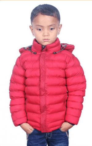 Windproof Silicon Jacket  For Kids