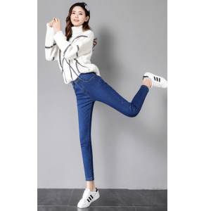 High Quality Jeans Fur Pant For Women Normal Size