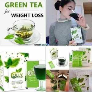 Colly Chlorophyll Plus Fiber, Green Tea Health