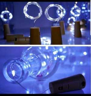 Wine Bottle Cork Copper String Fairy Lights
